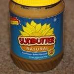 Vegan Sunflower Butter Cookies