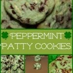 Happy St. Patrick's Day!  Celebrate with Peppermint Patty Cookies!