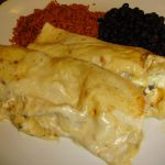 Ashton's Creamy Chicken Enchiladas!