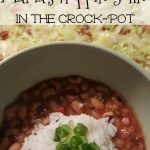 Mama's Hoppin' John in the Crock-Pot & New Year's Fun!