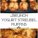 Brunch Yogurt Streusel Muffins and Baby Craft Day!