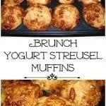 Brunch Yogurt Streusel Muffins and Baby Craft Day!
