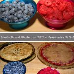 Gender Reveal Party with Blueberry Maple & Raspberry Crumb Pies!