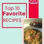 My Top 10 Recipes of 2012