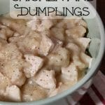 Fast and Easy Southern Style Chicken and Dumplings