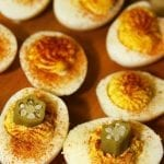 Game Day Southern Deviled Eggs