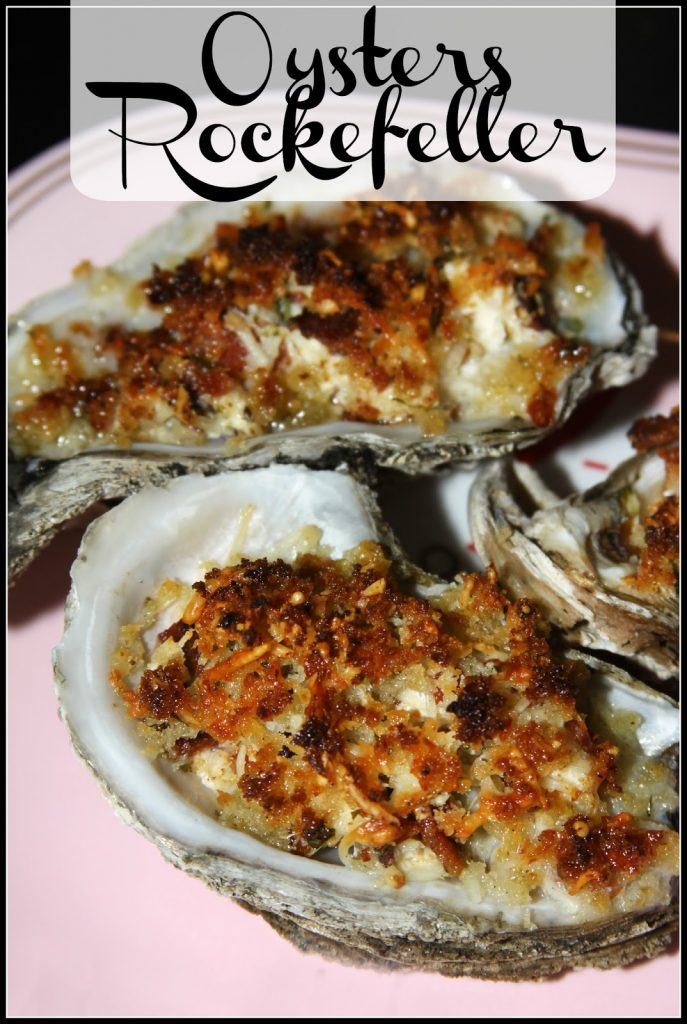 Gulf Coast Oysters Rockefeller - For the Love of Food