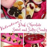 Valentine's Pink Chocolate Sweet and Salty Candy