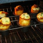 Gouda and Chive Popovers