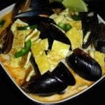 Asian Food Week: Thai Coconut Curry Seafood Soup