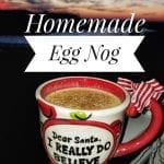 "Homemade Egg Nog Inspired by ""Ace of Cakes"" and Christmas in August"