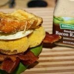 The Ultimate B.E.L.T. Sandwich with Hidden Valley Smoked Bacon Ranch!