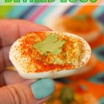 Guacamole Deviled Eggs for National Guacamole Day!