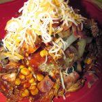 Crockpot BBQ Chicken Chowdown