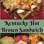 Daddy's Kentucky Hot Brown Sandwich
