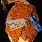 Ashton's Favorite 7 Minute Microwave Peanut Brittle & Gift Idea