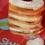 Valentine's Cranberry Sauce Sandwich Cookies