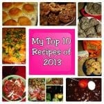 Top 10 Recipe Posts of 2013