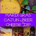 Mardi Gras Cajun Beer Cheese Dip