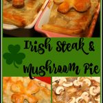 Irish Steak and Mushroom Pie