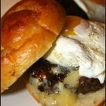 Gourmet Steak Burgers with Bacon Jam and Fried Egg