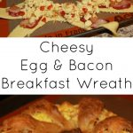 Cheesy Egg and Bacon Breakfast Wreath
