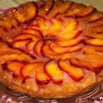 Fresh Picked Plum Upside-Down Cake