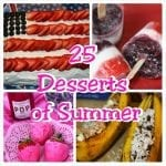 25 of my Favorite Desserts of Summer