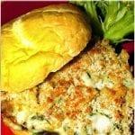 Stuffed Portobello Mushroom Burger