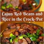 Cajun Red Beans and Rice in the Crock-Pot