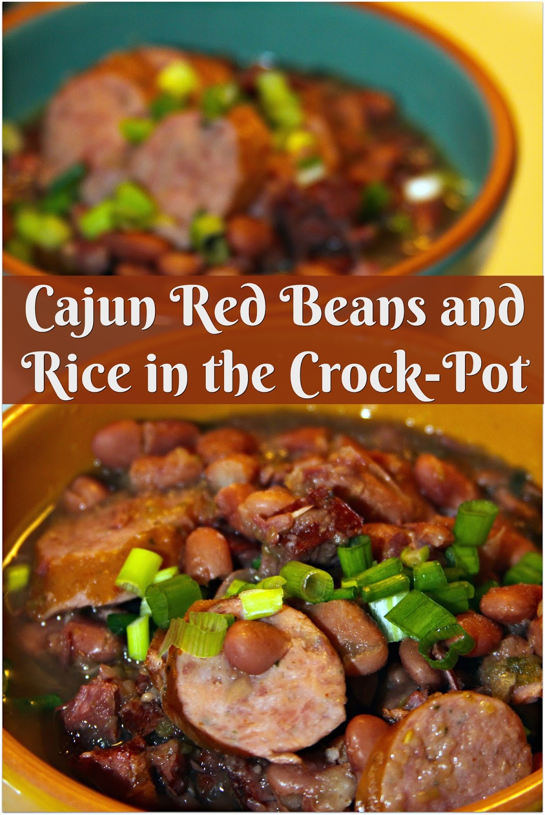 Cajun Red Beans And Rice In The Crock Pot For The Love Of Food
