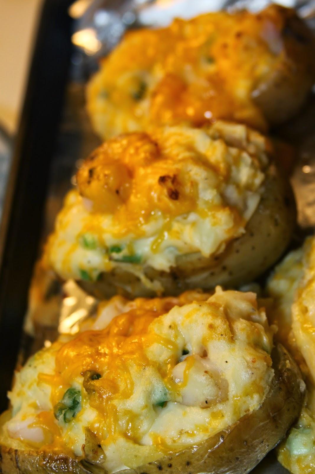 Paula Deen S Twice Baked Shrimp Stuffed Potatoes For The Love Of Food
