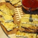 Low Carb Loaded Cheese Cauliflower Breadsticks