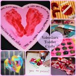 10 Minute Toddler Valentine's Day Crafts