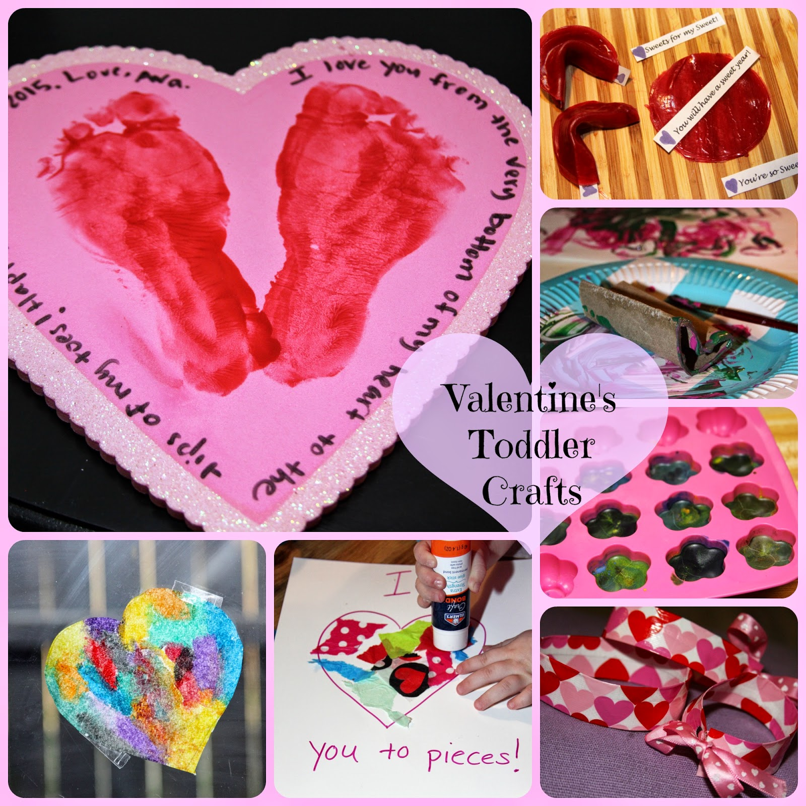 10 Minute Toddler Valentine S Day Crafts For The Love Of Food