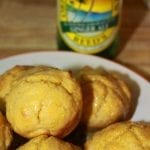 Honey & Ginger Beer Cornbread Muffins