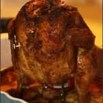 Roasted Ginger Beer Can Chicken