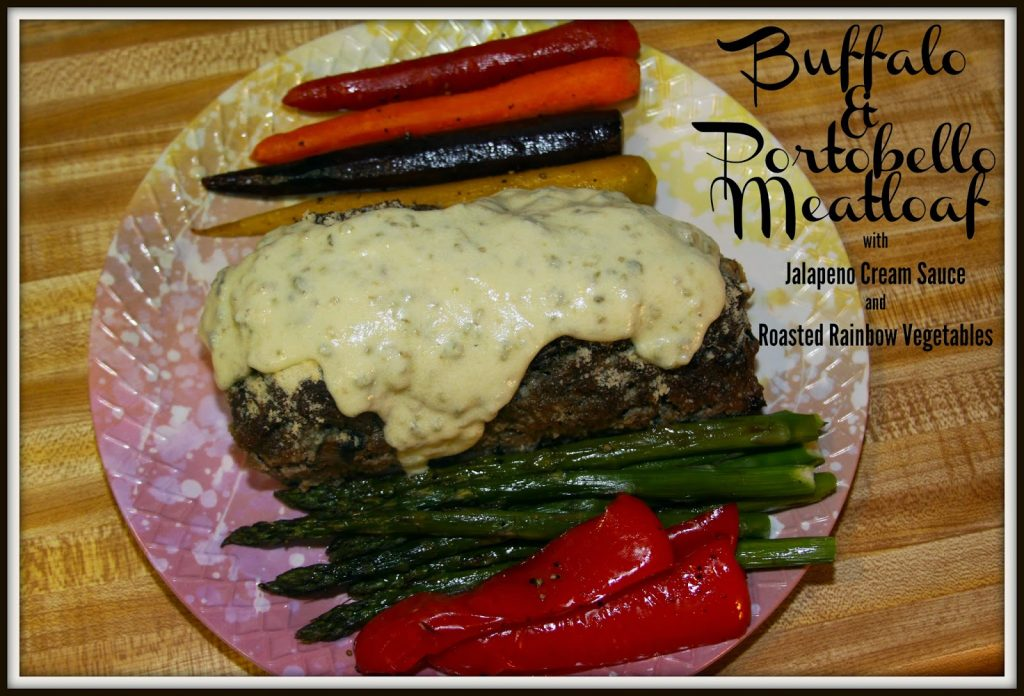 bison meatloaf with jalapeno sauce