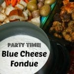 Party Time Blue Cheese Fondue