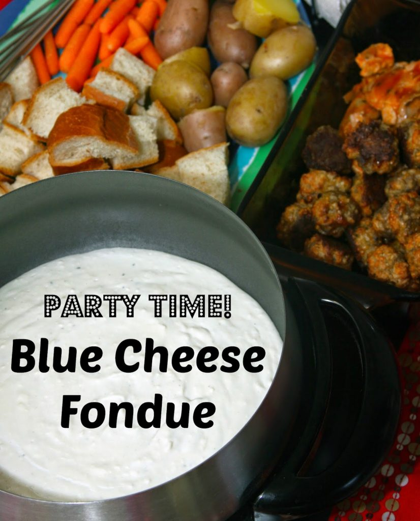 Warm Blue Cheese Dip