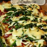 Overnight Eggs Benedict Casserole with Creamy Hollandaise