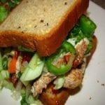 Five Spice Chicken Banh Mi Sandwich