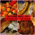 My Top 10 Summer Meals on the Grill