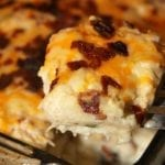 Bacon Lover's Loaded Cauliflower Casserole