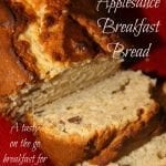 Pecan Applesauce Breakfast Bread