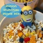 Minion Munchies Movie Snack Mix