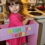 DIY Kid's Kitchen Helper Stool & Learning Tower