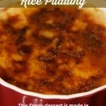 Caramel Creme Brulee Rice Pudding
