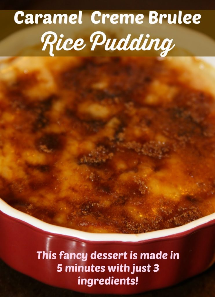 Rice Pudding Baked Dessert