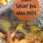 Cajun Shrimp Boil Grill Packs